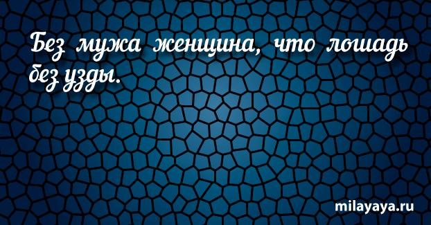 Короткая пословица для женщин в картинках (картинка 2)