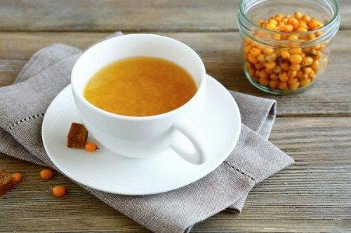 Облепиховый чай: польза и вред, рецепты.