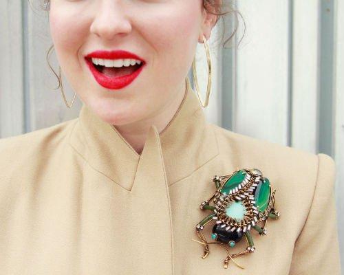 Как правильно носить брошь: фото, советы. Женский интернет-журнал