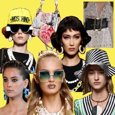 Топ-20 модных весенних аксессуаров 2017 — фото