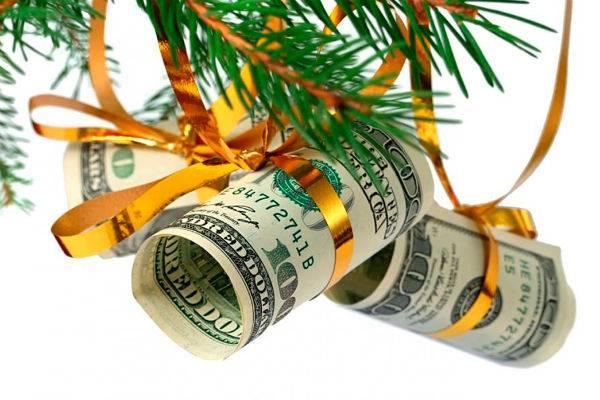 Ритуал с крупной новой банкнотой для финансового роста