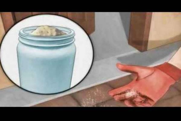 Вот зачем рассыпать соль прямо на пороге! Вы тоже начнете!