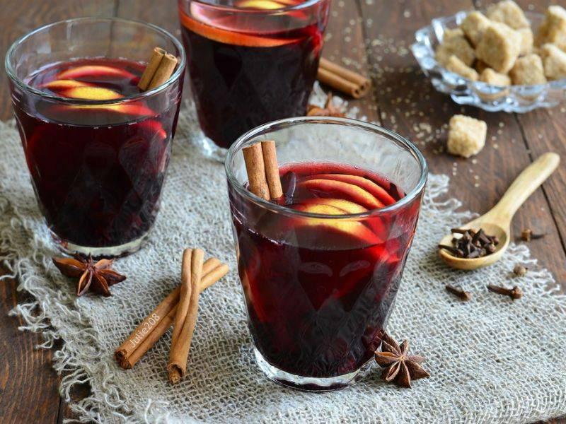 Как варить глинтвейн дома из красного вина
