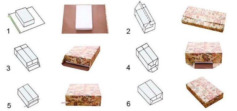 Упаковка подарков своими руками инструкция 92