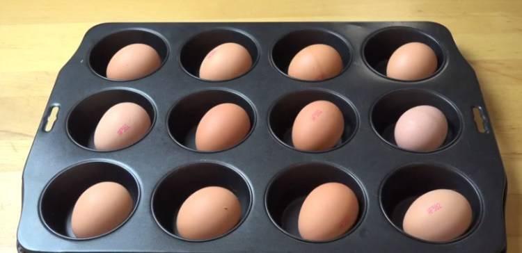 Что будет, если запечь яйца в духовке?
