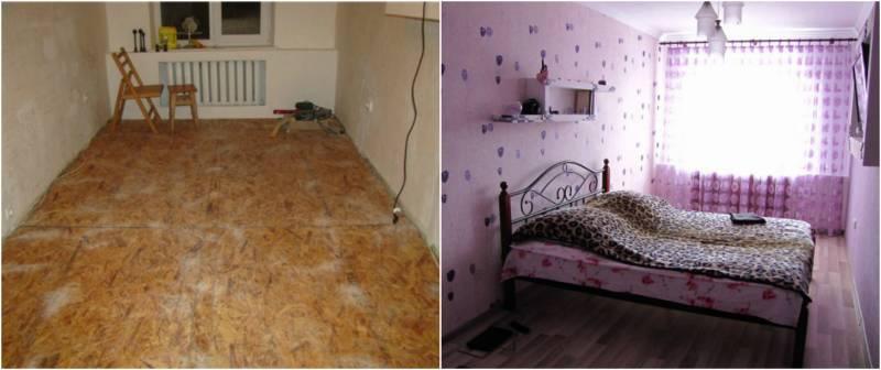 За 3 года он прекратил обшарпанную хрущевку в стильные апартаменты. Завидую белой завистью!