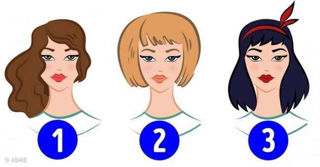 Тест: Что можно узнать овас подлине ицвету волос?