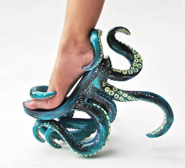10 странных туфель на шпильках для самых экстравагантных модниц