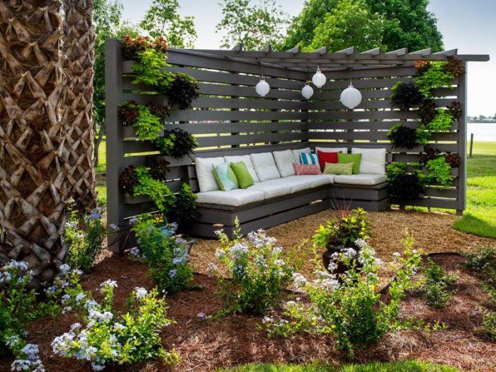 Дизайн для садового участка на даче своими руками 84