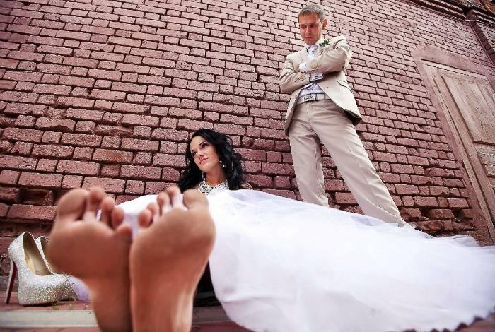 17 немыслимых свадебных фотографий, которые хочется поскорее развидеть