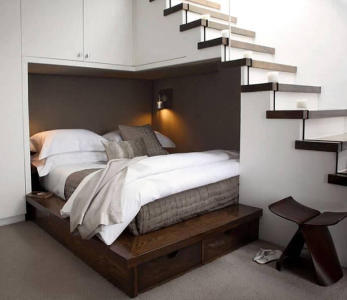 12 оригинальных идей, как эффективно использовать пространство в углах дома
