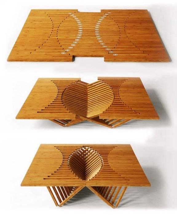 20 примеров функциональной трансформирующейся мебели, которая отлично впишется в интерьер малогабаритной квартиры