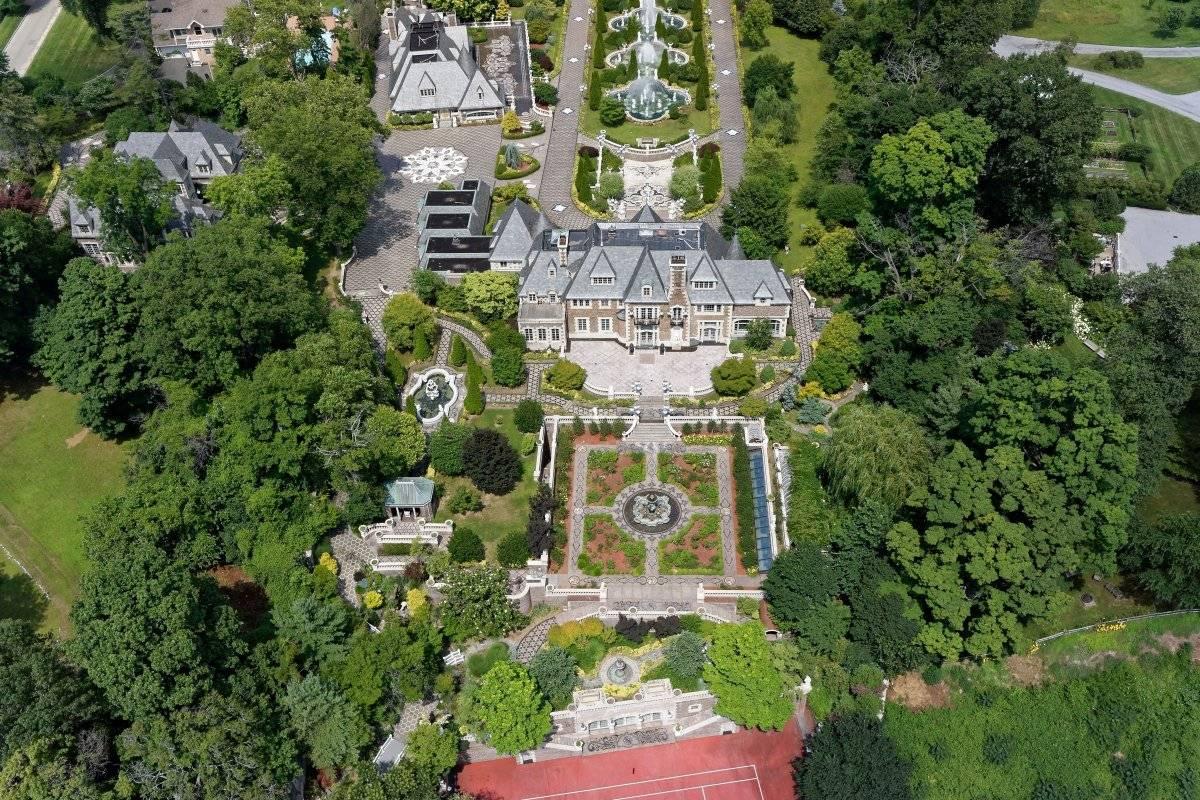 Как выглядит изнутри дом миллиардера, эмигрировавшего из СССР в США