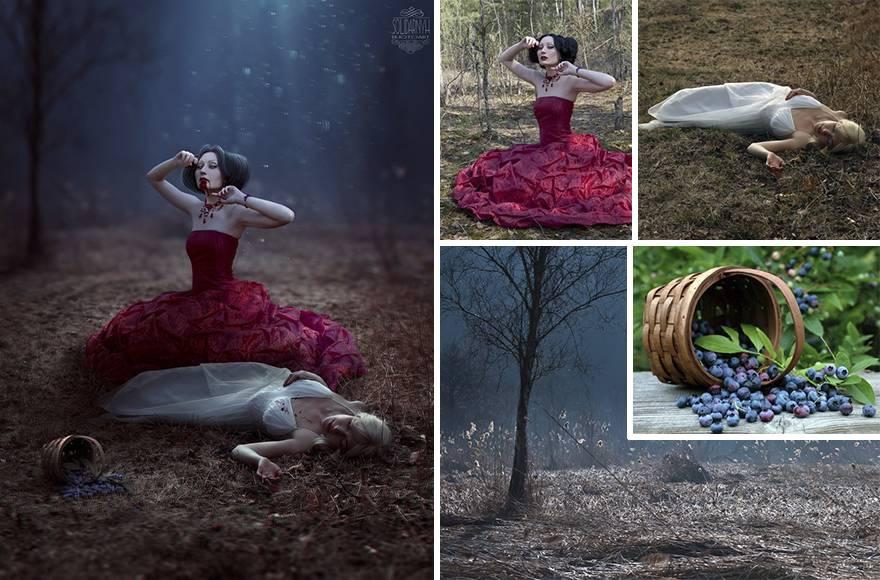 Запредельное мастерство: эта девушка из Украины творит при помощи фотошопа что-то невероятное!