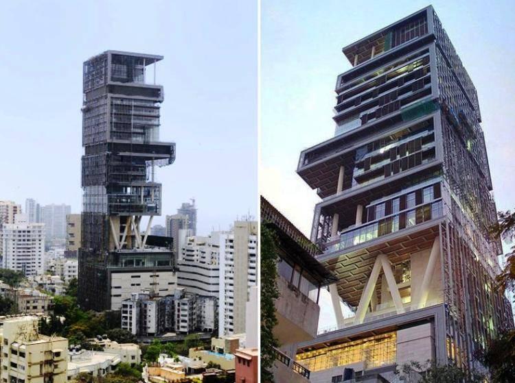 Миллиардер из Индии построил дом за $2 миллиарда и нанял 600 слуг. Но так и не поселился в нем!