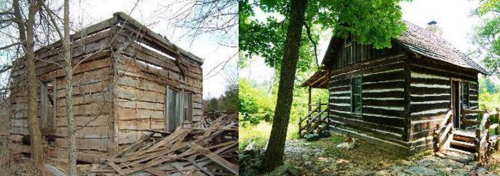 Он купил полуразрушенную хижину за $100 долларов. За 10 лет он превратил ее в дом мечты!