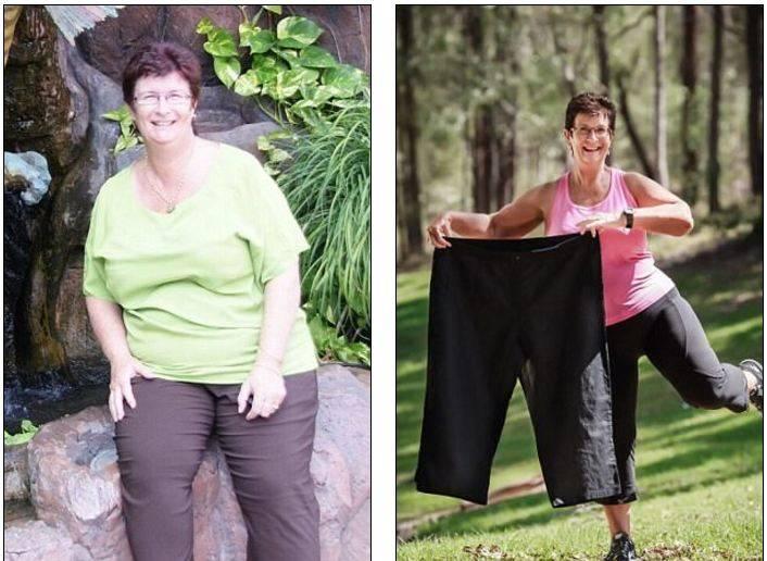 Как правильно сбросить вес в 60 лет