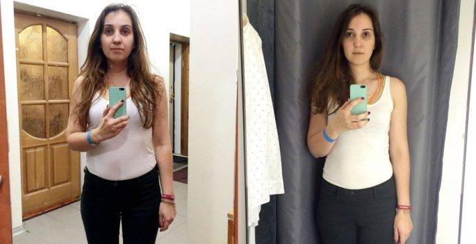 Эта девушка сравнила свое отражение в разных примерочных, чтобы показать, как нас вводят в заблуждение