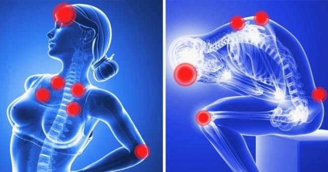 Если беспокоят боли вовсем теле, эти 12симптомов должны вас насторожить