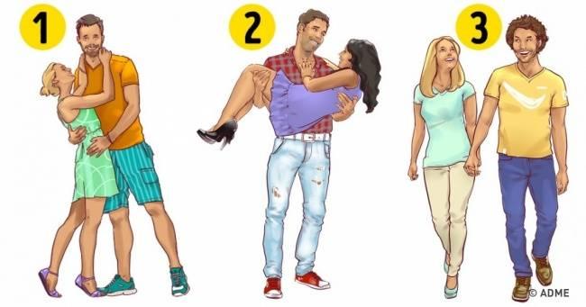 Выберите самую счастливую пару, имырасскажем кое-что важное оваших отношениях