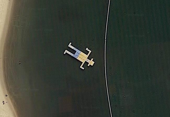 13находок наGoogle Maps, которые порождают много споров