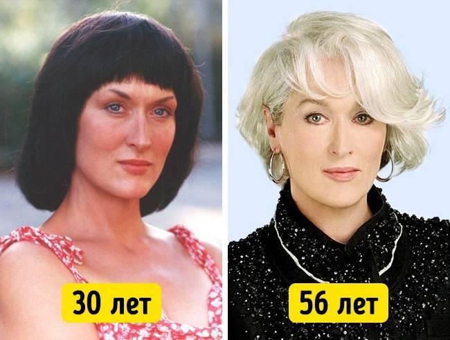 Знаменитости, которые в40лет выглядят лучше, чем в20