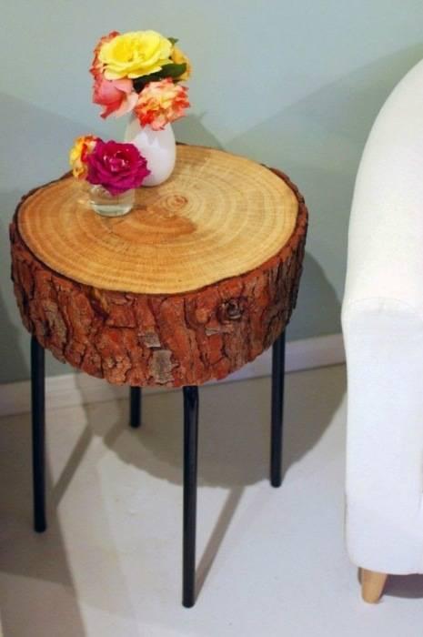 20 великолепных идей для создания гениальных прикроватных тумбочек из всего, что найдется под рукой