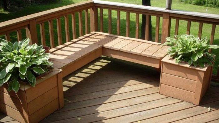 20 примеров самодельной садовой мебели из дерева, которая станет великолепным украшением придомовой территории