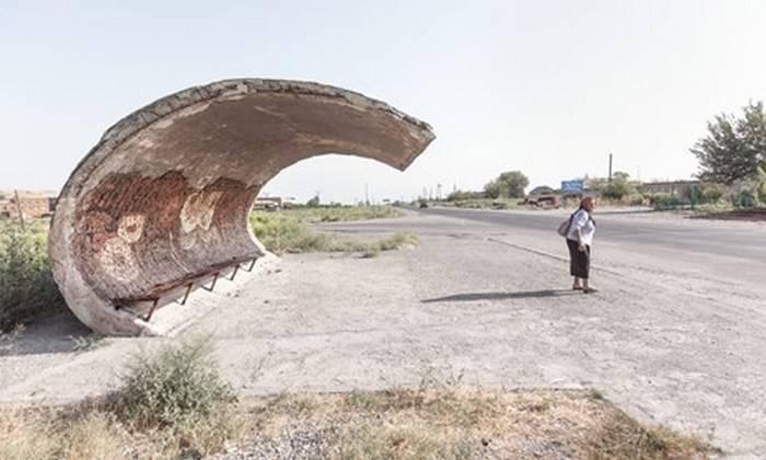 10 колоритных автобусных остановок, построенных в своё время в разных уголках СССР