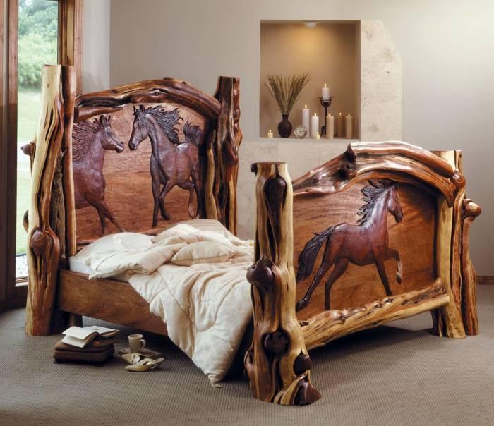 20 уникальных изделий из резного дерева, которые сделают интерьер модным и изысканным