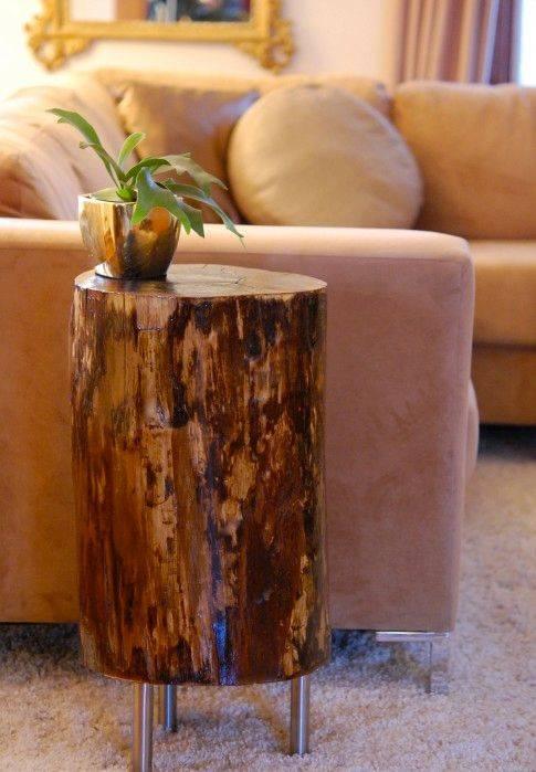 10 простых идей из дерева для дачи