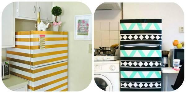 12 симпатичных идей обновления холодильника