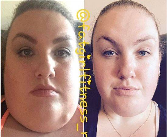 Она похудела на 76 кг и посмотрите, как преобразилось ее лицо!