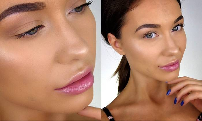 Голое лицо: Как правильно сделать макияж без макияжа