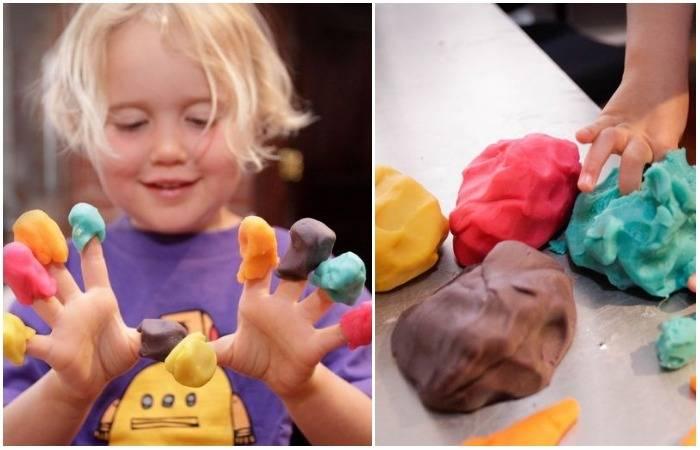 Очумелые ручки: как сделать безопасный пластилин для детского творчества