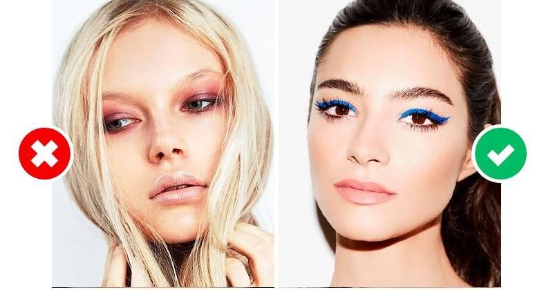 Модный макияж Модные тенденции в