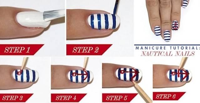 9 способов сделать стильный маникюр при помощи обычной зубочистки