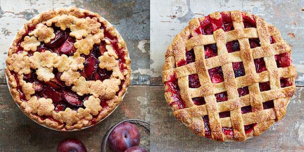 Как украсить летний сладкий пирог с ягодами или фруктами