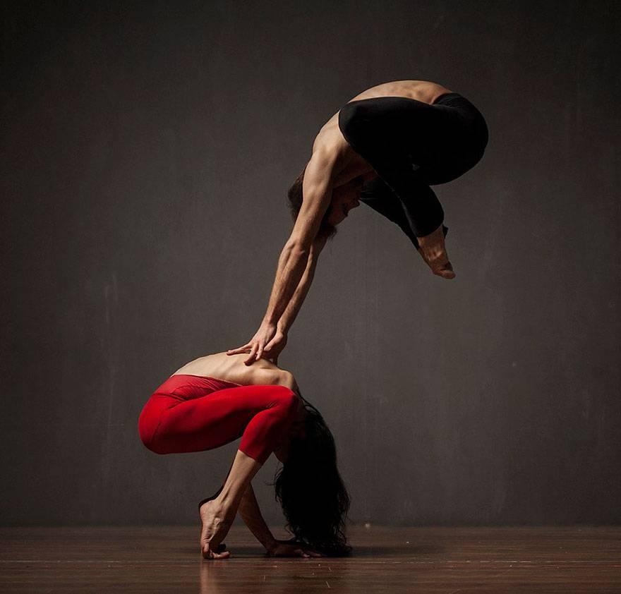 модифицирующие фото танцоров надо сделать