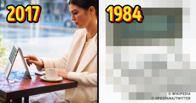 Как раньше выглядели 20вещей, которые сегодня знакомы каждому