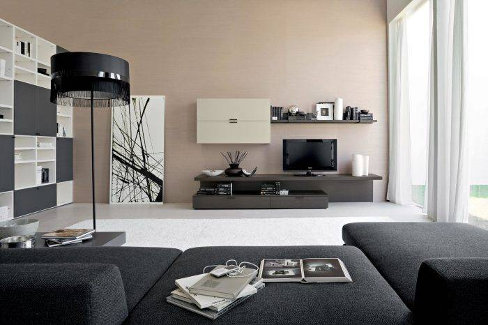 20 отличных идей, которые помогут превратить зону для просмотра телевизора в место волшебного отдыха