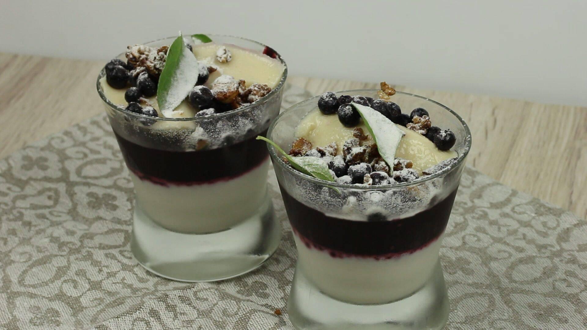 Обалденное кокосово-ягодное желе!