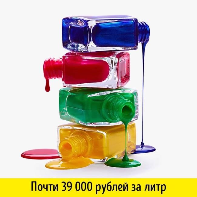 15дорогущих жидкостей, некоторыми изкоторых мыдаже пользуемся