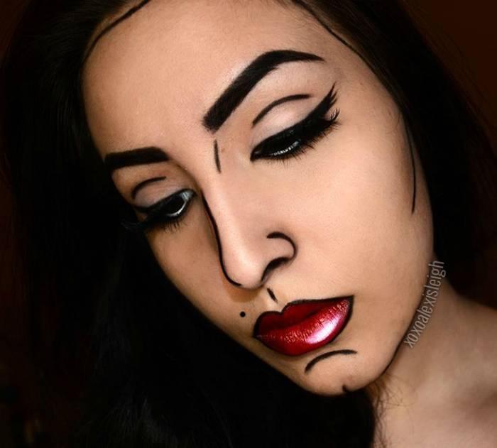 17 идей макияжа для тех, кто хочет стать звездой вечеринки по случаю Хэллоуина
