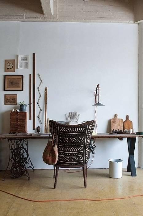 Как вдохнуть новую жизнь в старые швейные машинки: 20 реальных дизайнерских примеров