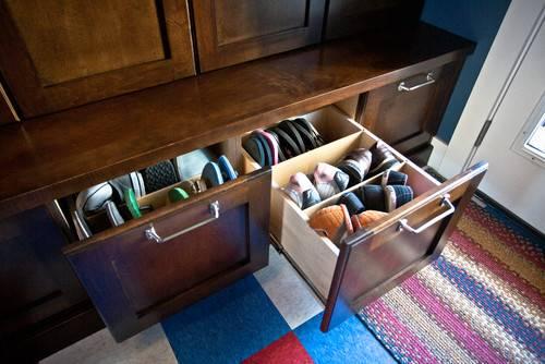 Как организовать хранение обуви - идеи и варианты