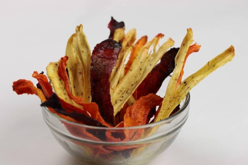 Полезные овощные чипсы. Вкусная закуска без вреда для фигуры и здоровья!