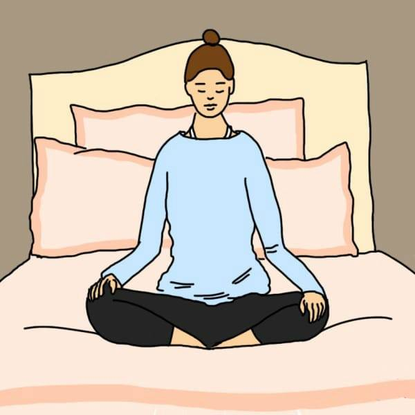 10 асан, которые нужно делать перед сном, чтобы спать сном младенца