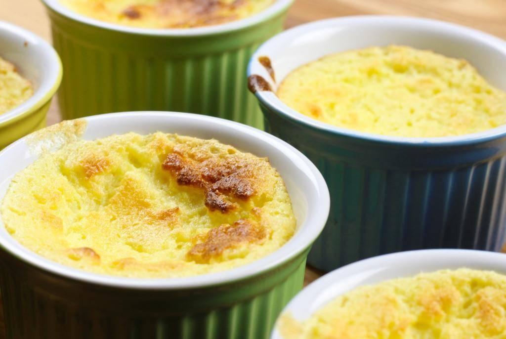 Лимонное суфле. Беспроигрышный вариант десерта для близких!