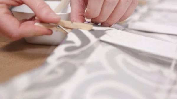 Римские шторы из старых жалюзи за копейки. Все гениальное просто!